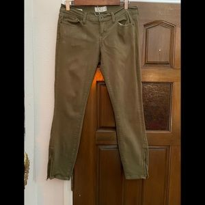 Lucky Brand khaki colored skinny jeans
